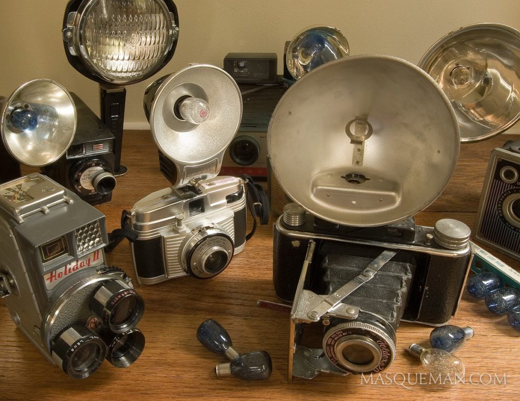 My vintage camera collection from my Grandma