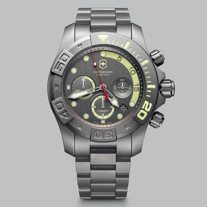 Special Limited Edition Dive Master Watch for Victorinox's 25th Anniversary of making watches. Photo credit: Victorinox Swiss Army