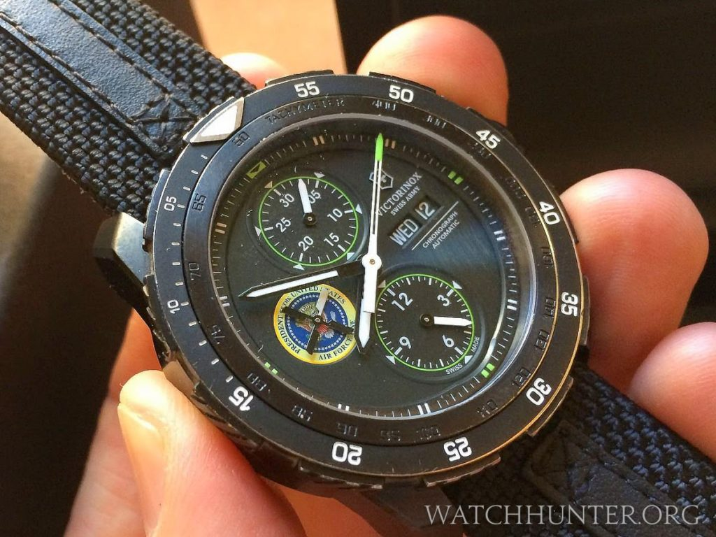 Victorinox Swiss Army Alpnach Chronograph with the Air Force One seal