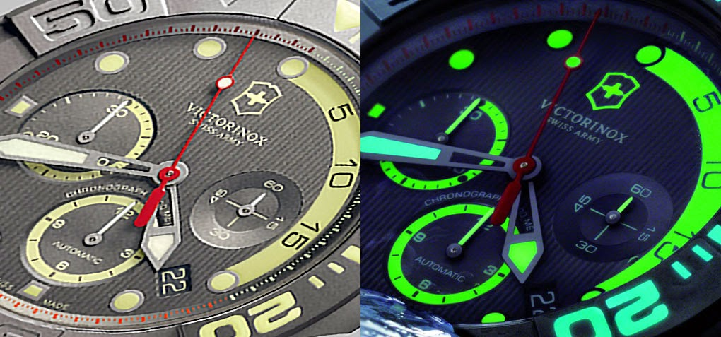 The lume is different colors and puts on a deep sea light show of luminescence