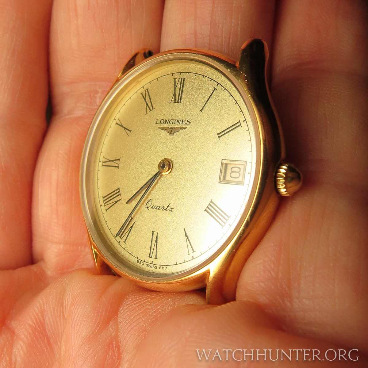 This small Longines watch was owned by both my father and grandfather.