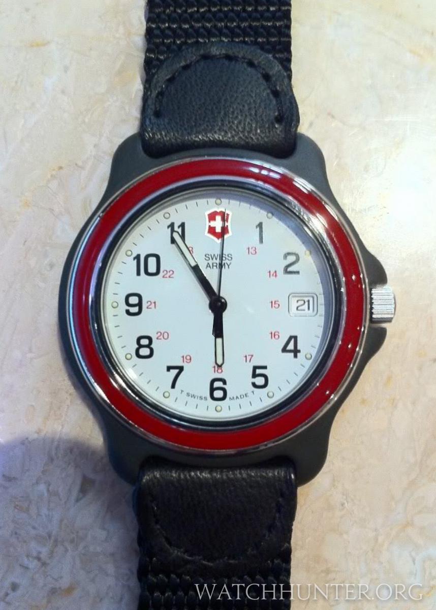 Swiss army original watch review