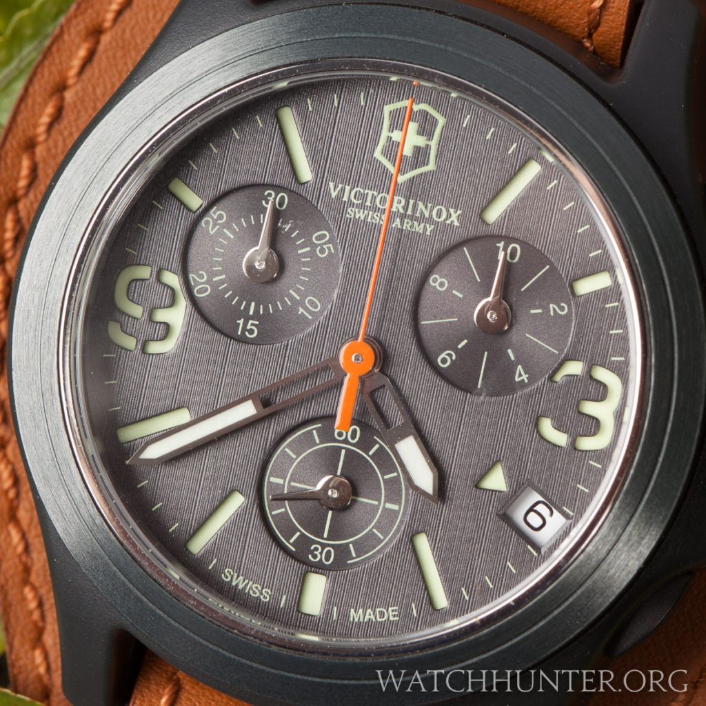 Notice the dial's lined texture and simulated cutouts.
