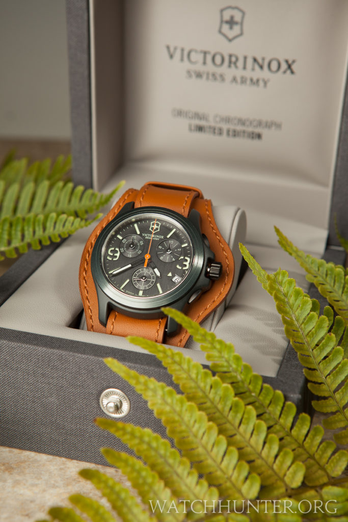 The presentation box for the Victorinox Swiss Army Original Limited Edition is attractive