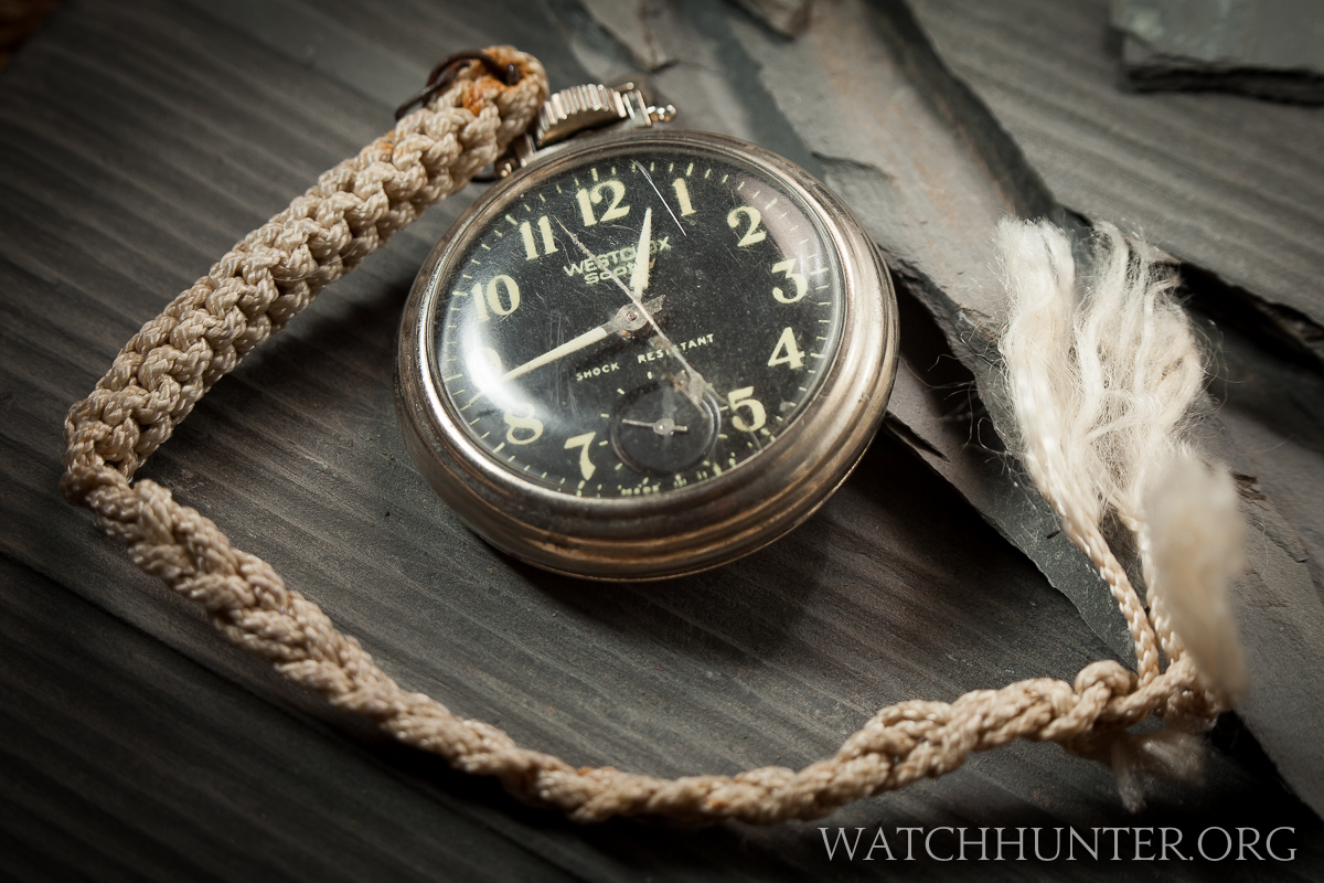 American made Westclox Scotty wind up pocket watch. Its tick is thunderous