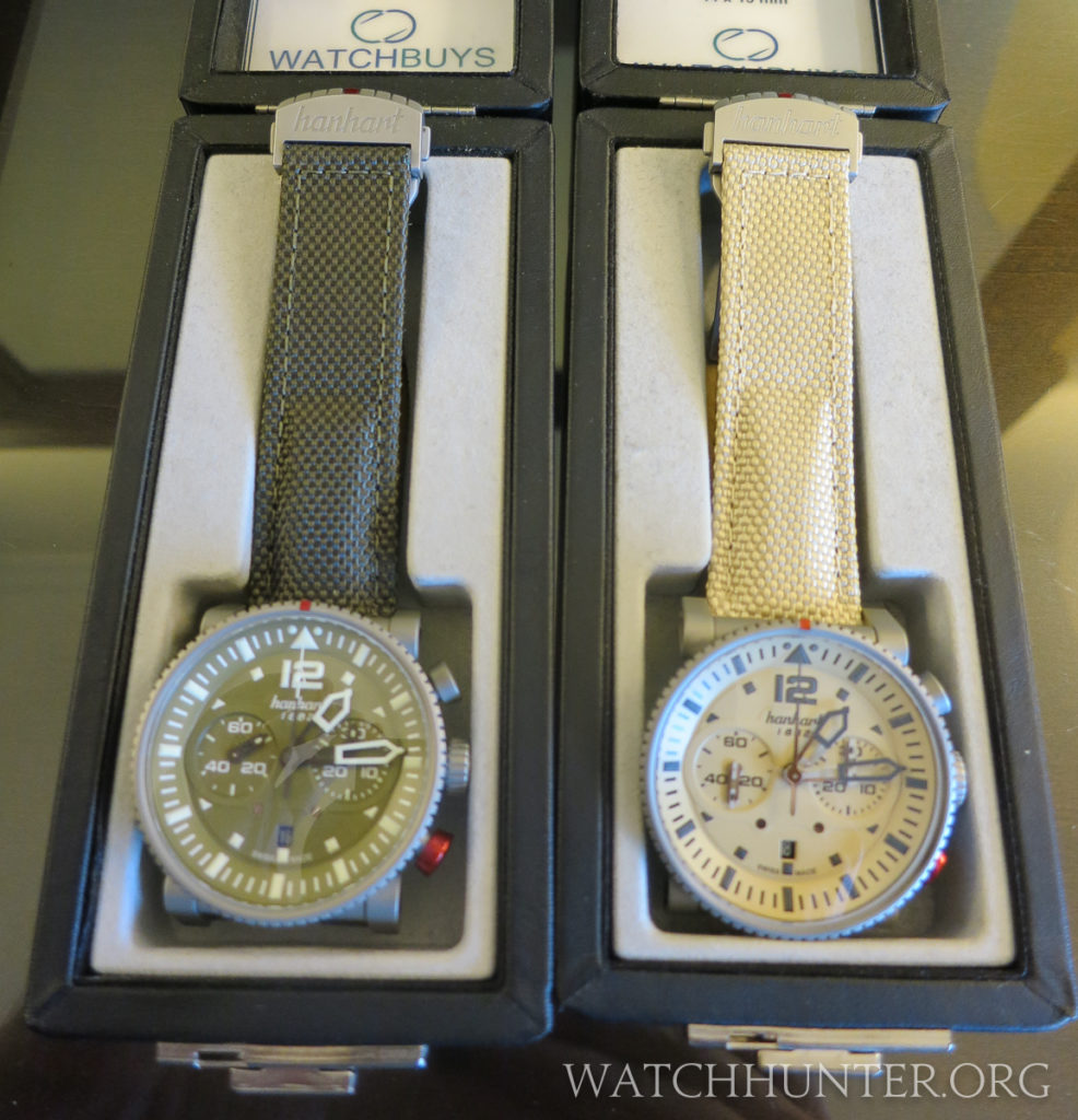 Two Hanhart Primus limited editions