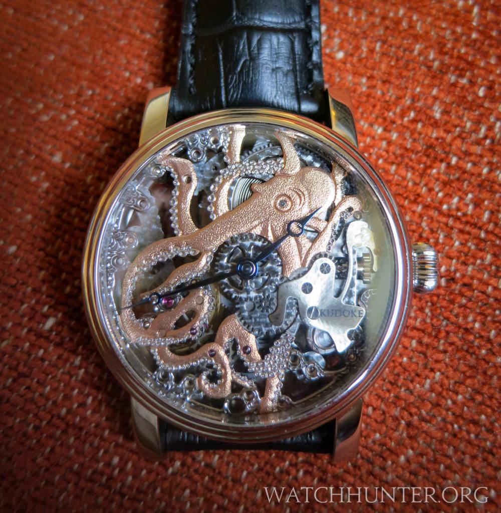 The Kudoktopus watch