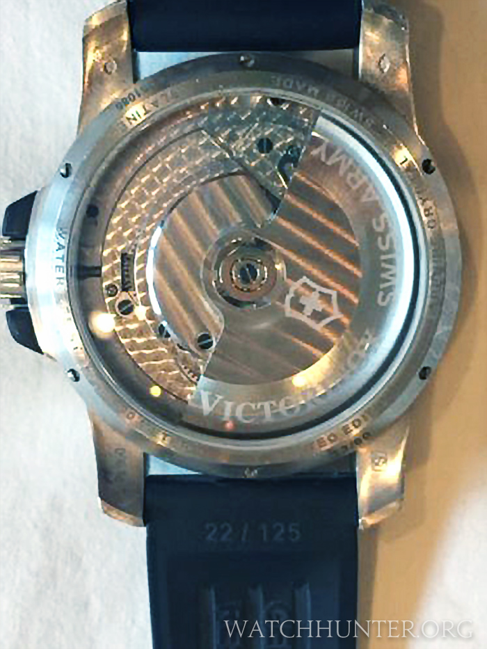 Photo: eBay Seller. The rubber watch strap is numbered 22/125 and does not match the case