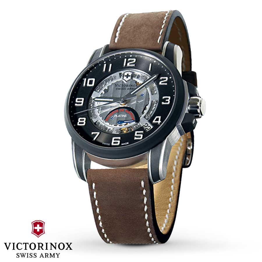 Victorinox Swiss Army 2006 Legacy Réserve de Marche Platine Ultra Watch