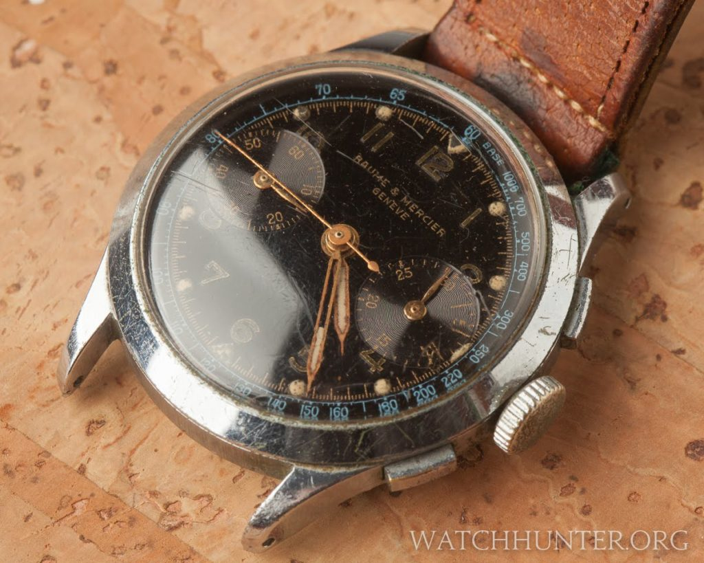 A very old Baume & Mercier Chronograph from the 1940s