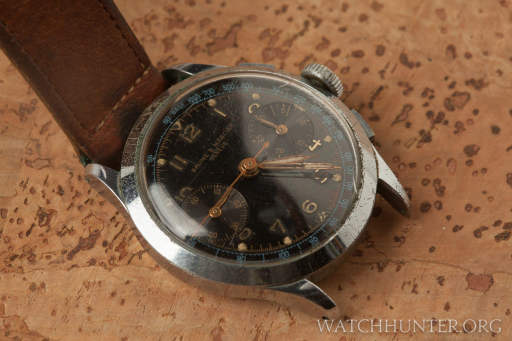This special watch belonged to a naval aviator