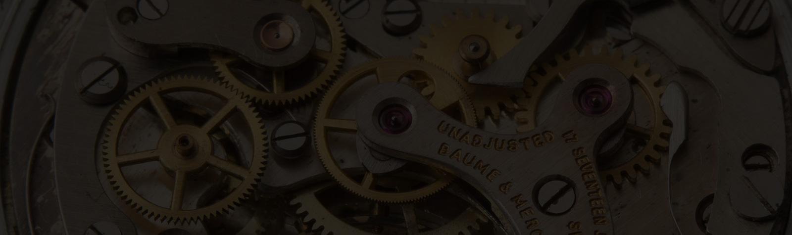 VINTAGE WATCH: 1940s Baume & Mercier Chronograph