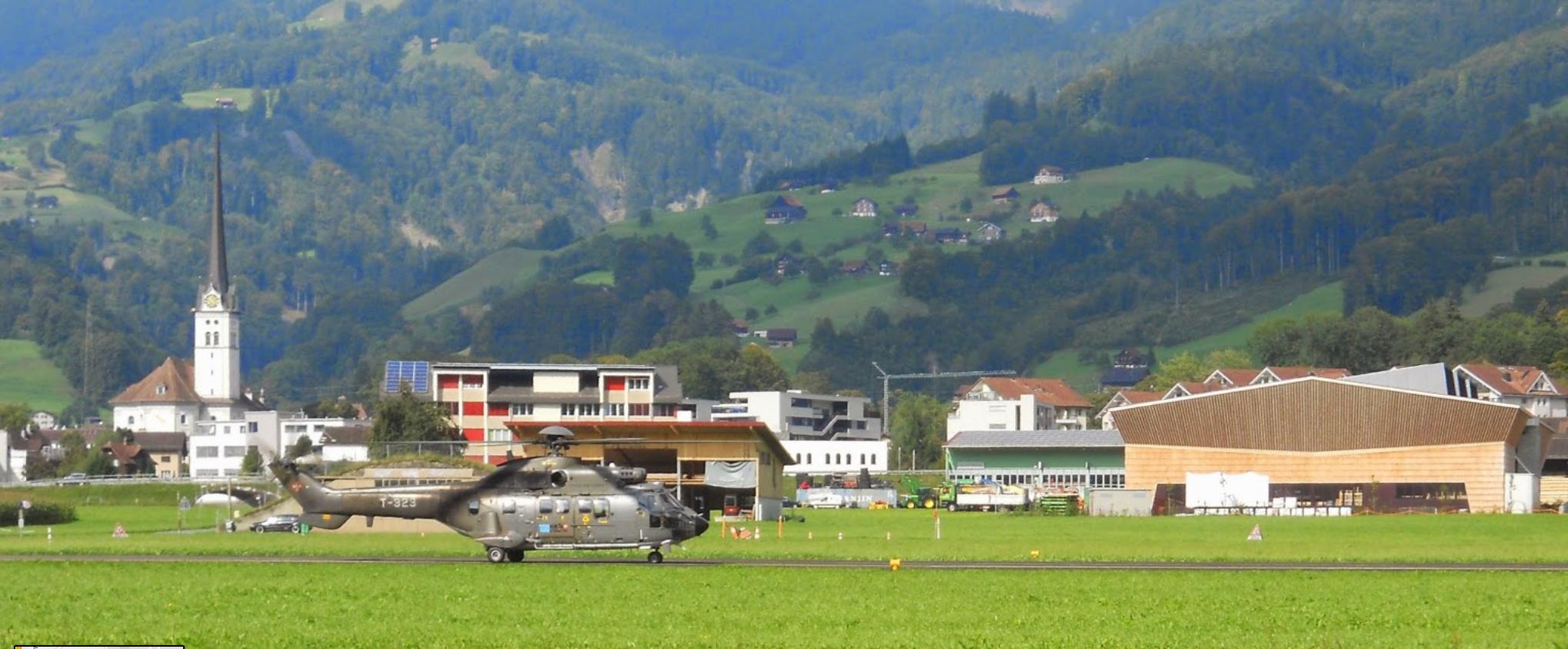 Airbase Alpnach in Switzerland