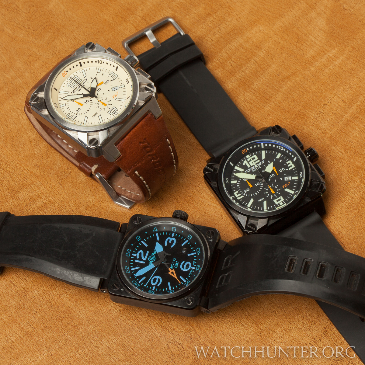 The square watch theme popularized by Bell & Ross and borrowed by others