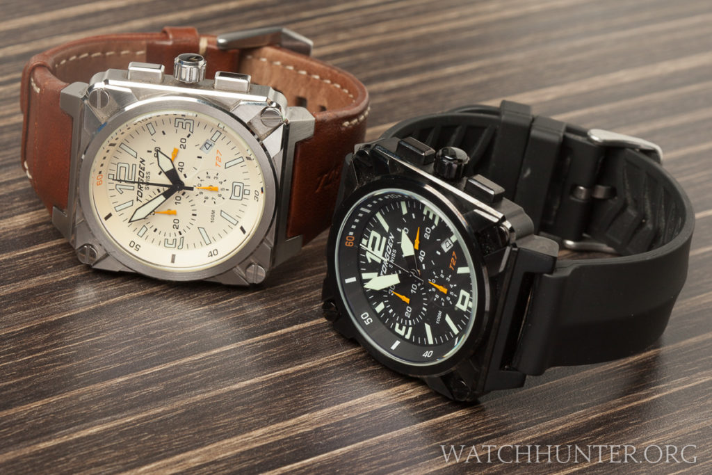 Torgoen Aviation Inspired T-27 Chronographs