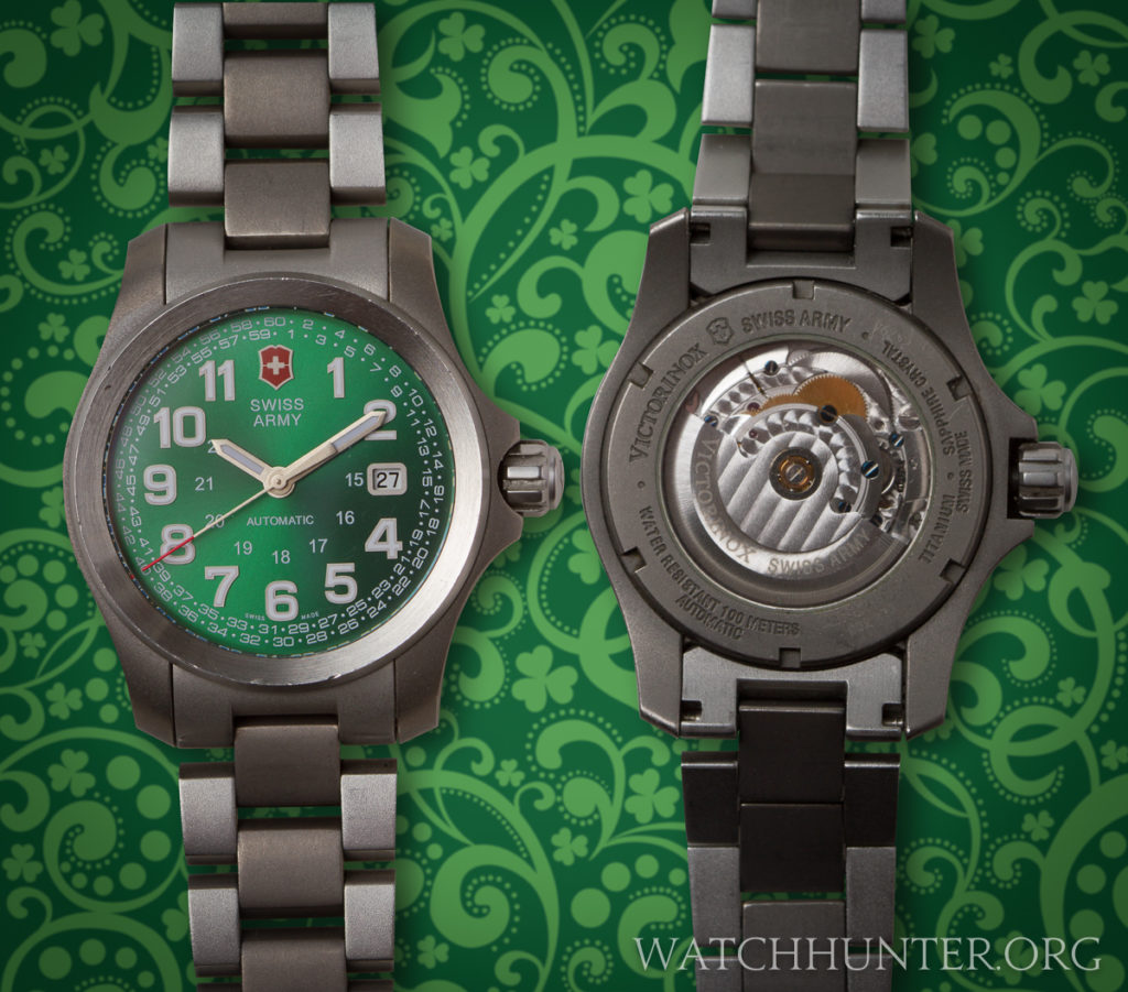 Everyday is St. Patrick's Day with a watch this green!