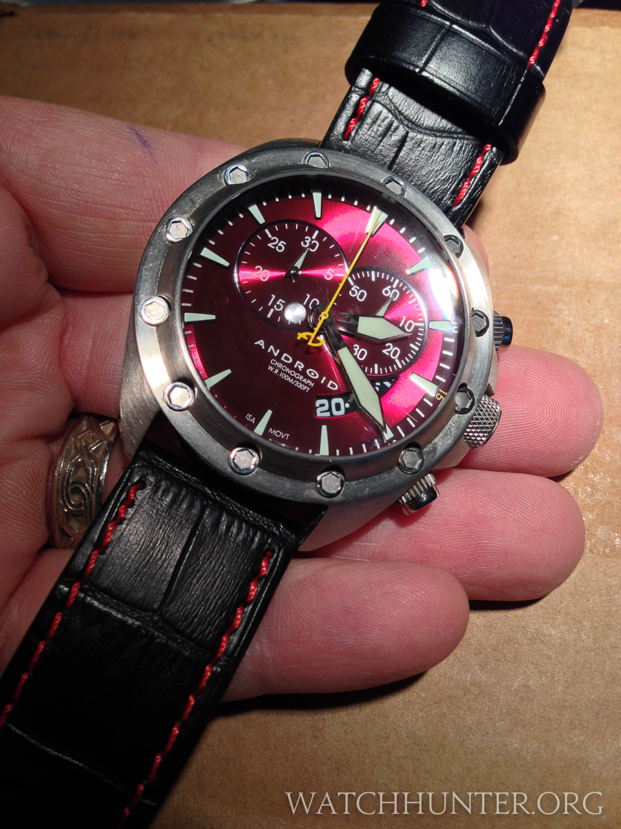 Sure, this Android Concept T2 is a fashion watch, but I really liked it.