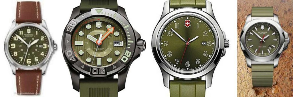 Other green watches from Victorinox Swiss Army are more muted than this limited edition Ground Force