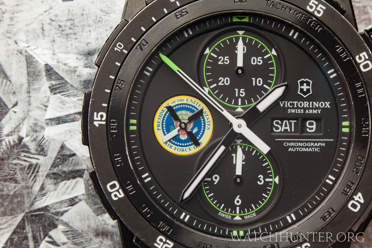 Even with the other numerous dial details, the seal steals the show.
