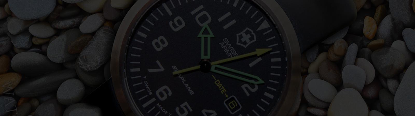 MEET THE WATCH: Victorinox Swiss Army Quartz SeaPlane Watches