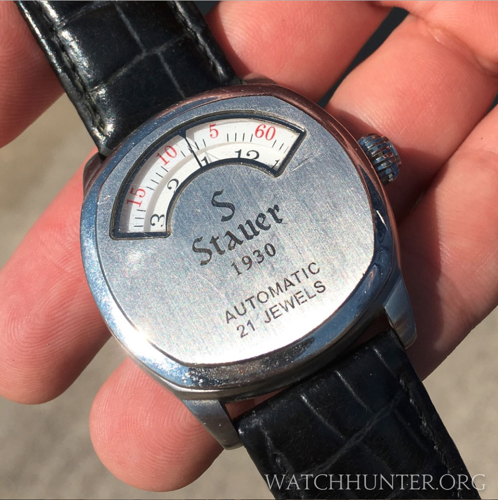 A watch I had seen advertised in magazines was met in person at an airshow. FYI. It is not really from 1930...