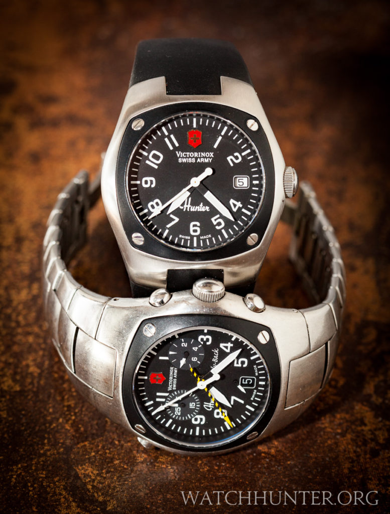 The Hunter Mach 1 and 2 were Victorinox Swiss Army's excellent take on pilot watches.