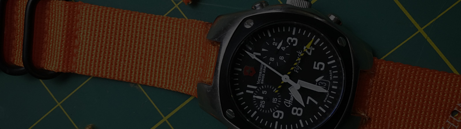 STRAP SWAP: Real World Experiments to Replace Hunter Watch Bands by Victorinox Swiss Army