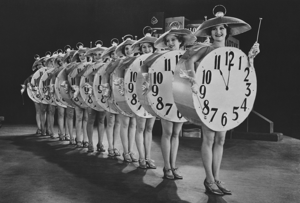 Some of my watch-related dreams looked like this old photograph!!! Photo: Shutterstock