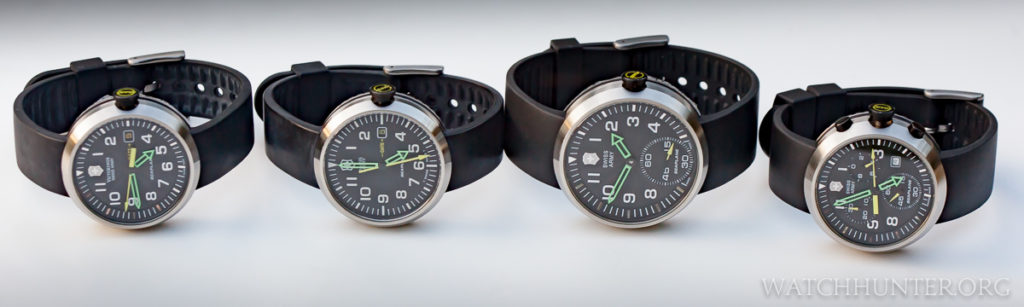 The Victorinox Swiss Army family of SeaPlane watches