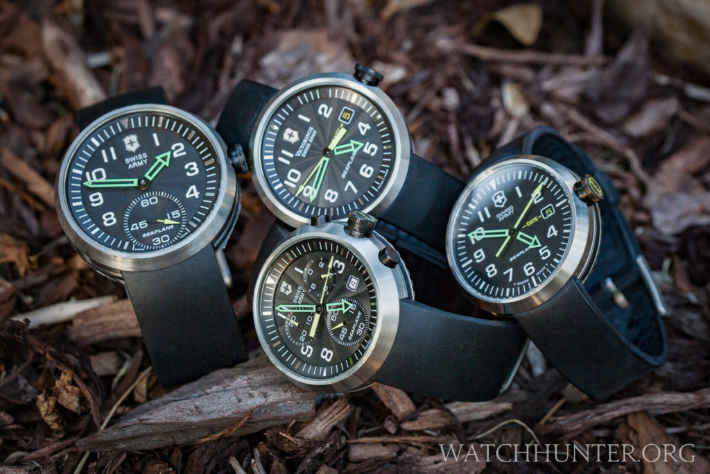 My SeaPlane watches before I broke up the collection