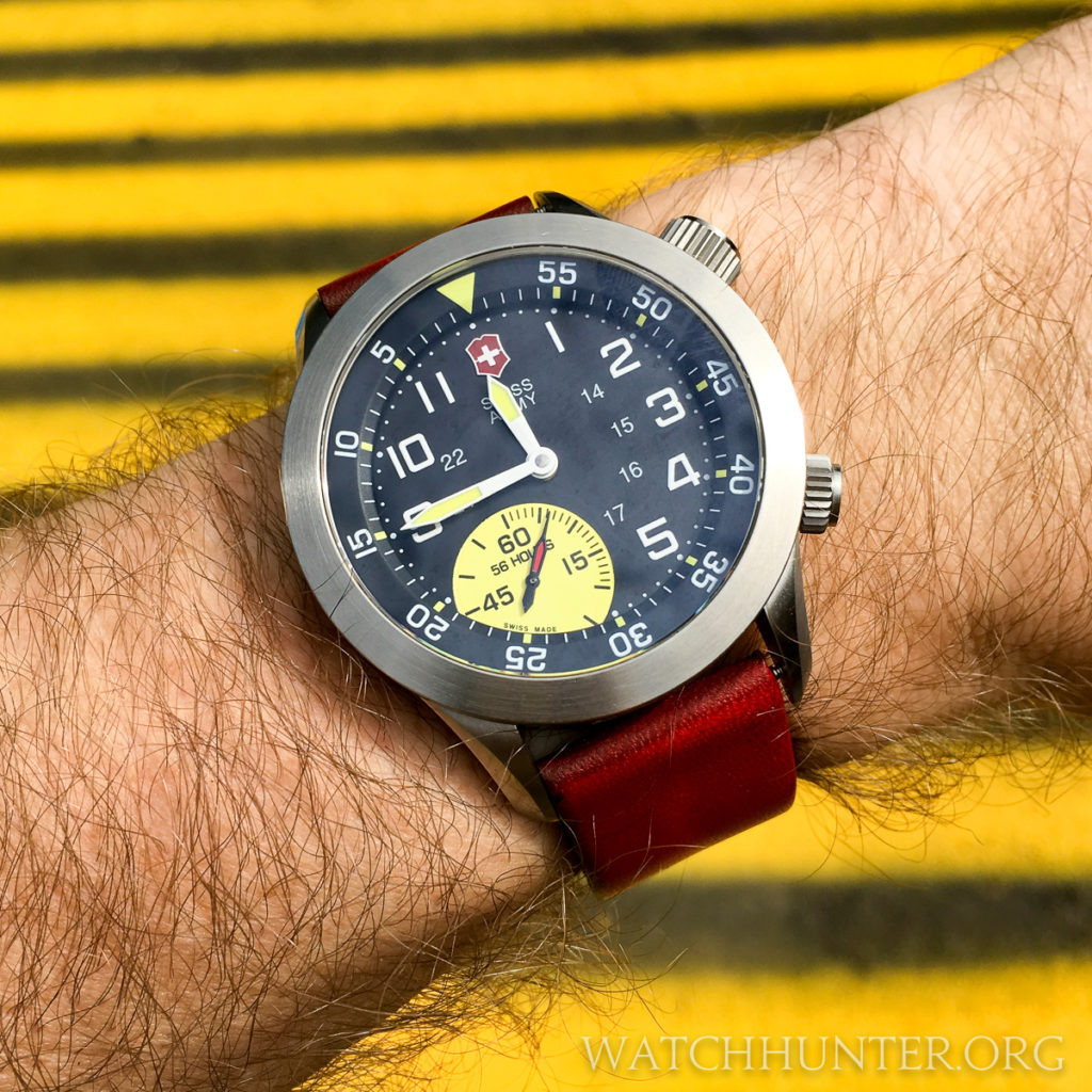 Sorry, I'm not going to shave my arm for photos of my Victorinox Swiss Army Airboss Mach 4 Limited Edition