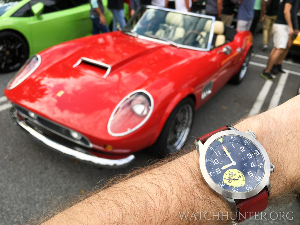 Probably not a real Ferrari 250, but it looked great anyway.