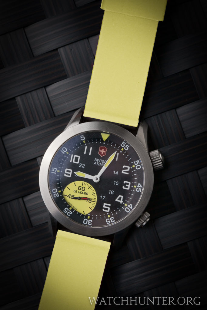 I did not like the way a yellow watchband looked on the Airboss Mach 4 LE