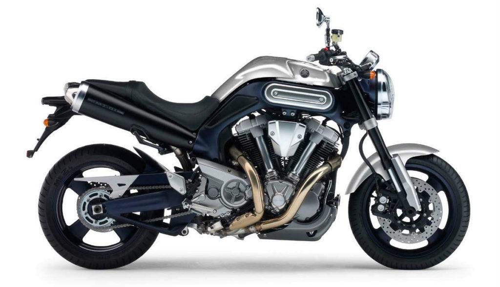 2005 Yamaha MT-01. Photo: Yamaha Motorcycles
