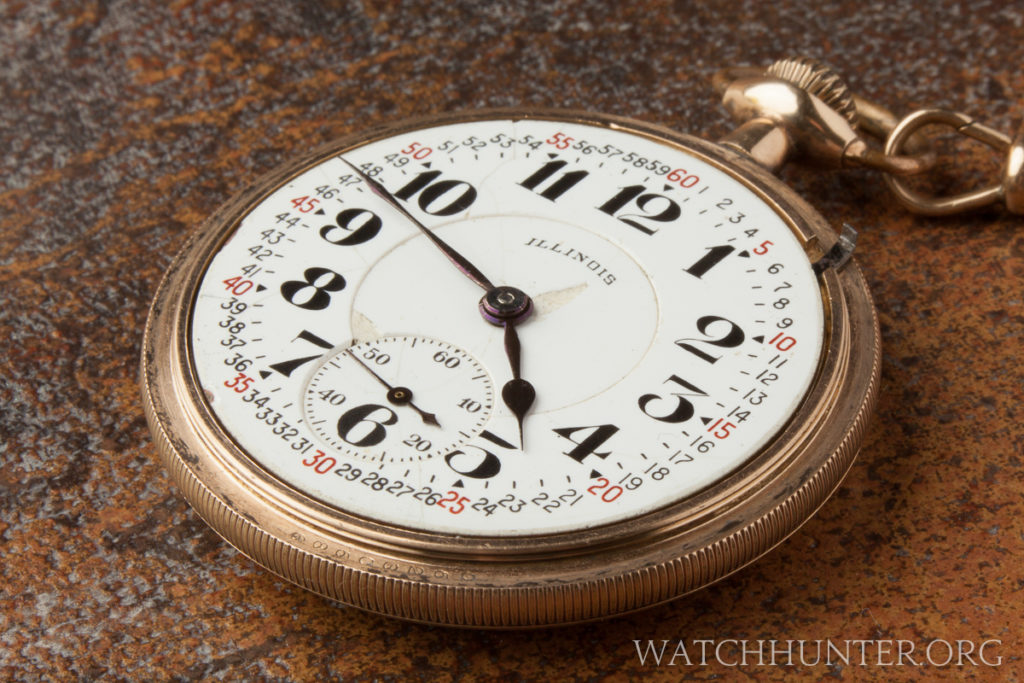 An American made Illinois pocket watch