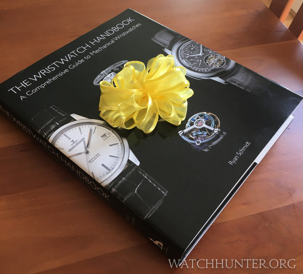"Merry Christmas to me!!! I bought ""The Wristwatch Handbook"""