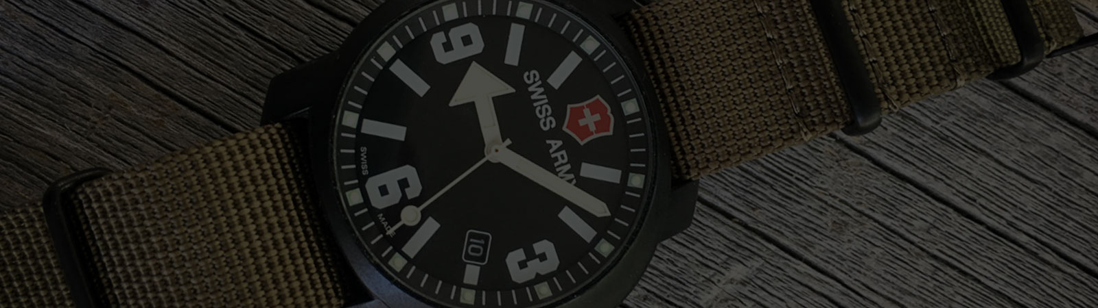 MEET THE WATCH: Victorinox Swiss Army Recon Watch with the Giant Arrow Hand