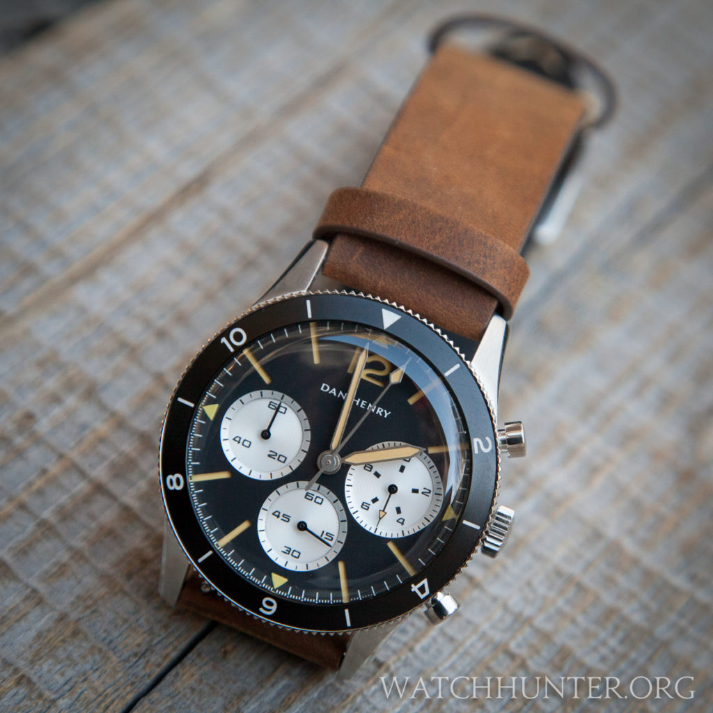 The 1963 Chrono's vintage style without the headaches, cost or maintenance or a real antique watch.