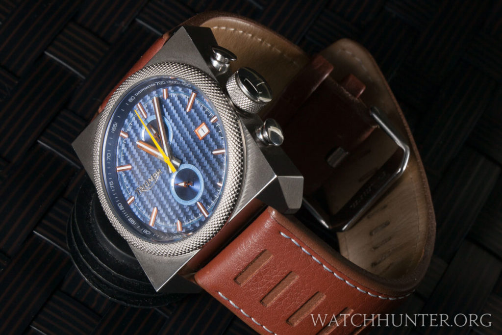The Scrambler Chronograph is an excellent brand ambassador for Triumph Motorcycles