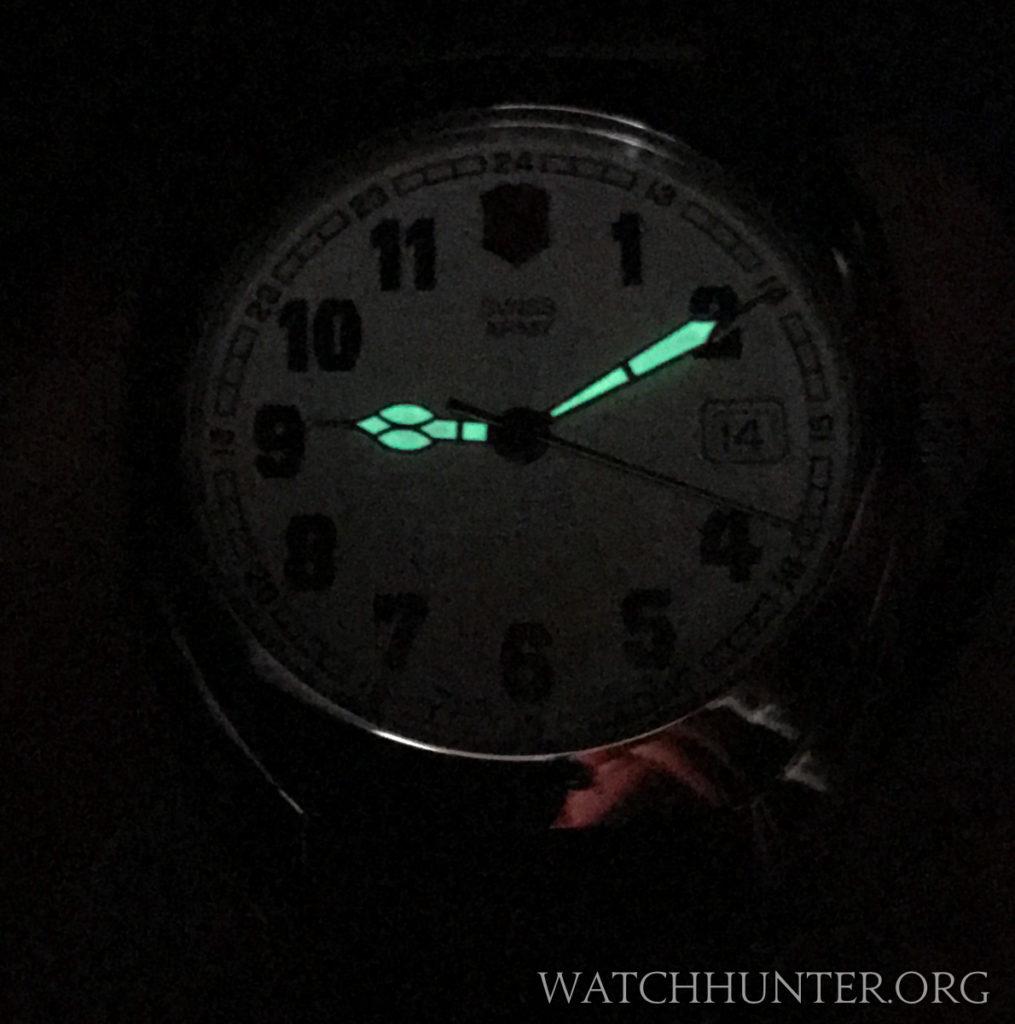 The Swiss Army Whisper had lumed hands only. Photo: Kraig Radesi