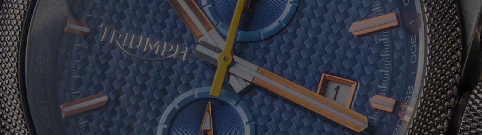 MEET THE WATCH: Triumph Scrambler Chronograph with Carbon Fiber Dial