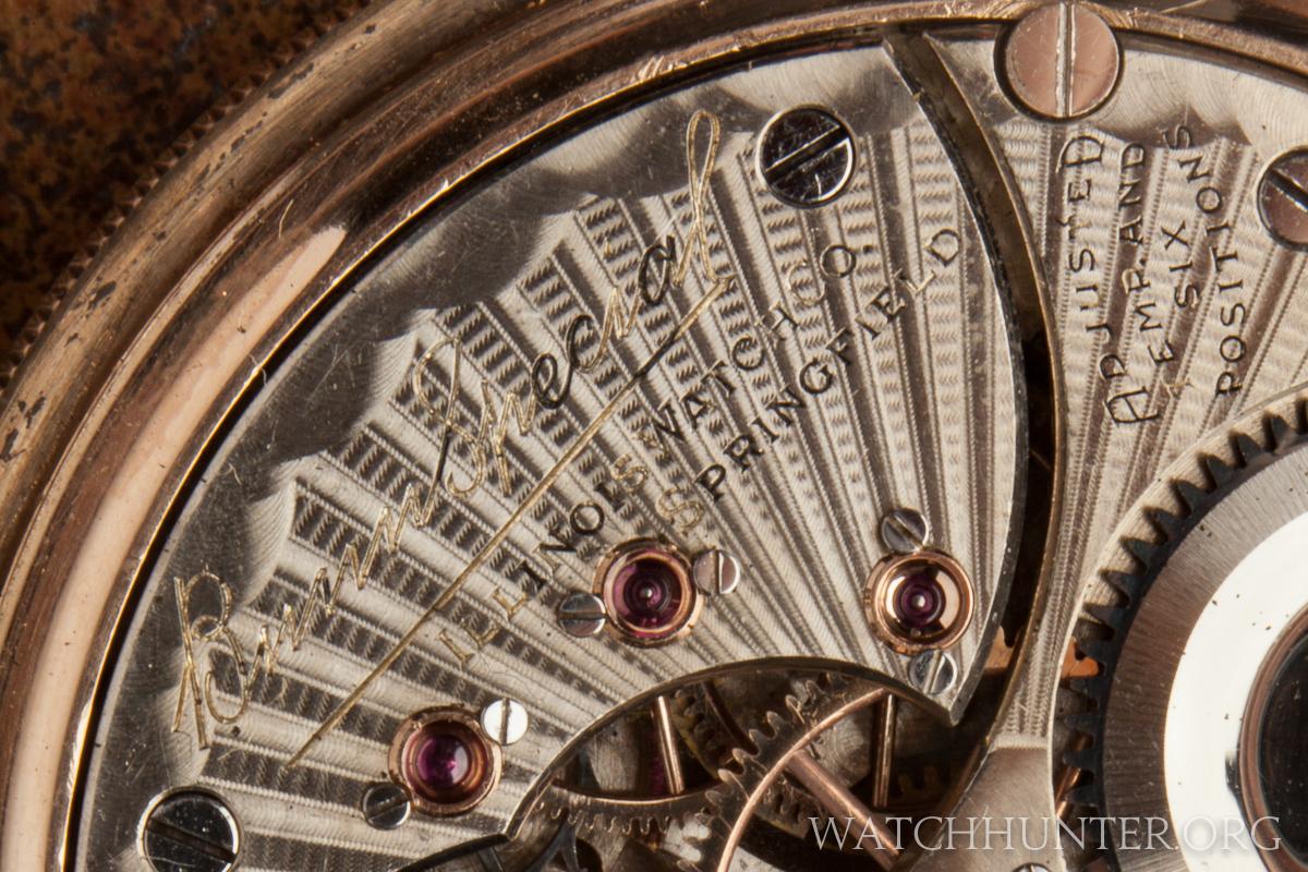 Bunn Special. Illinois Watch Company. Springfield.