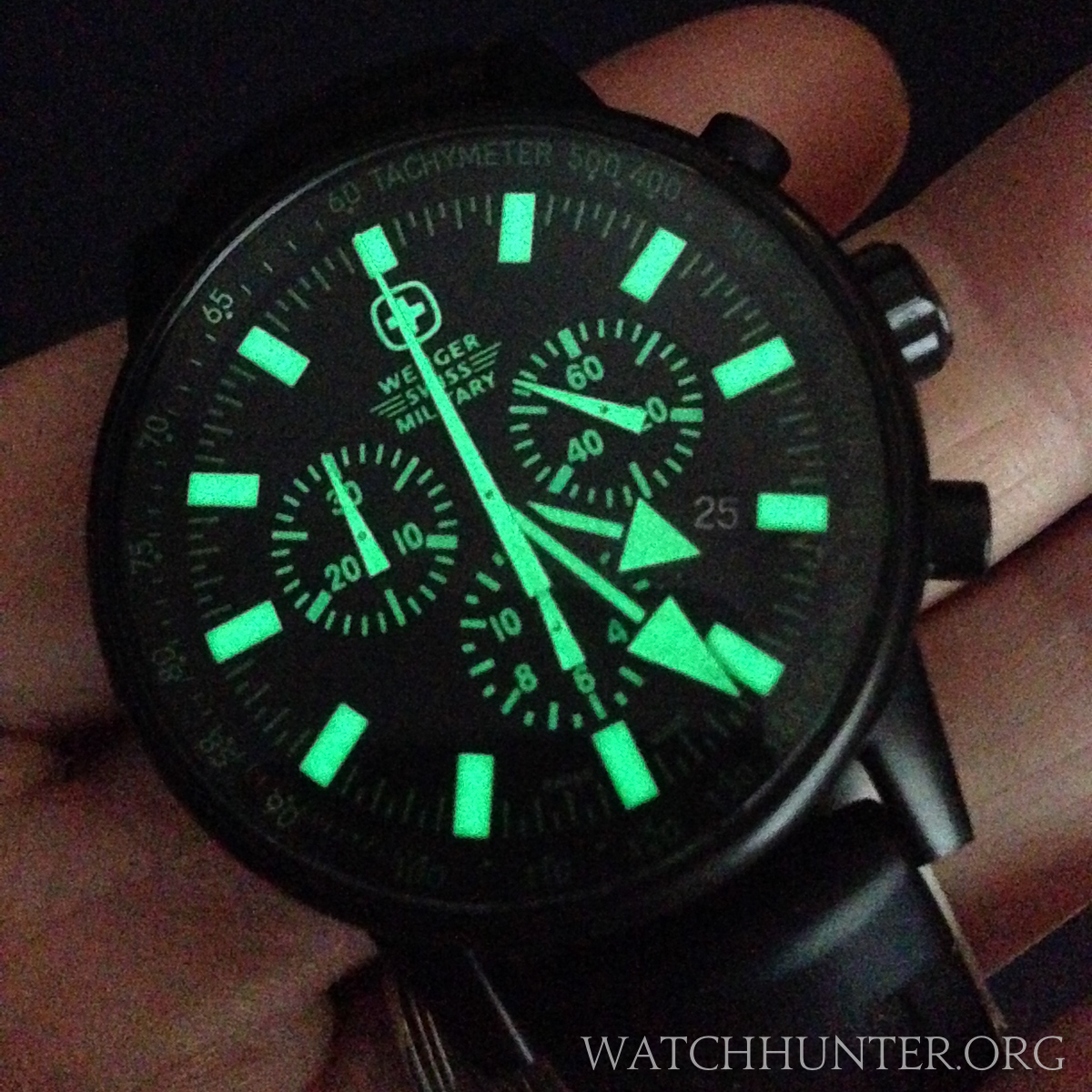 A Wenger Swiss Military Raid Commando is made for night operations... at the movie theater