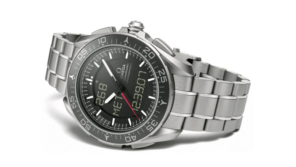 The Omega X-33 Skywalker Digital Analog watch. Photo by Omega