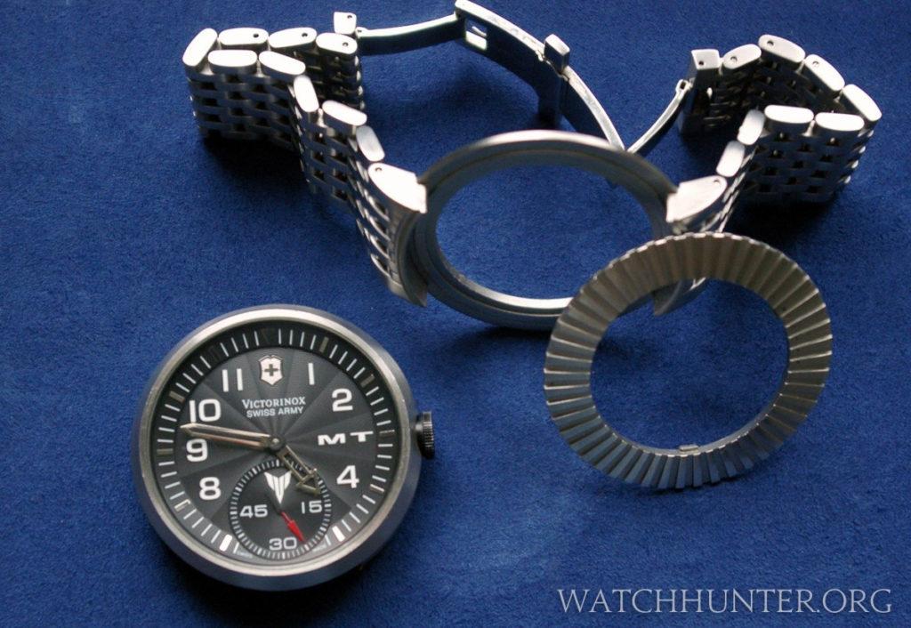 The Yamaha MT-01 watch was based on Victorinox's SeaPlane XL modular watch. Photo: cytochrom