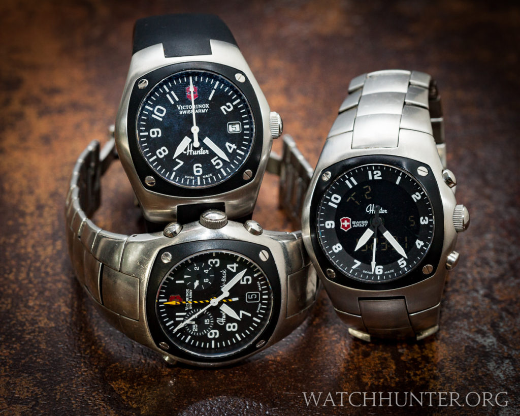 There is nothing else exactly like the Swiss Army Hunter watches in the Swiss Army catalog or anyone else's!