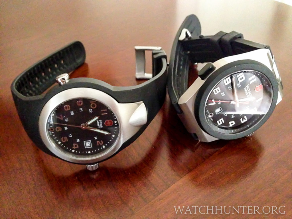 Victorinox Swiss Army Night Vision Flashlight watches. Generation 1 and 2.