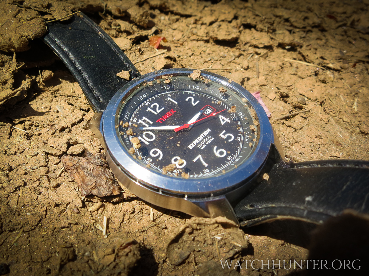 Timex makes tough and very inexpensive watches. They take a lickin' and keeps join tickin'...