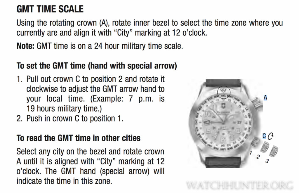 Instructions from Victorinox Swiss Army Manual